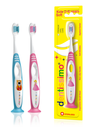 TOOTHBRUSHES KIDS 2-6 YEARS
